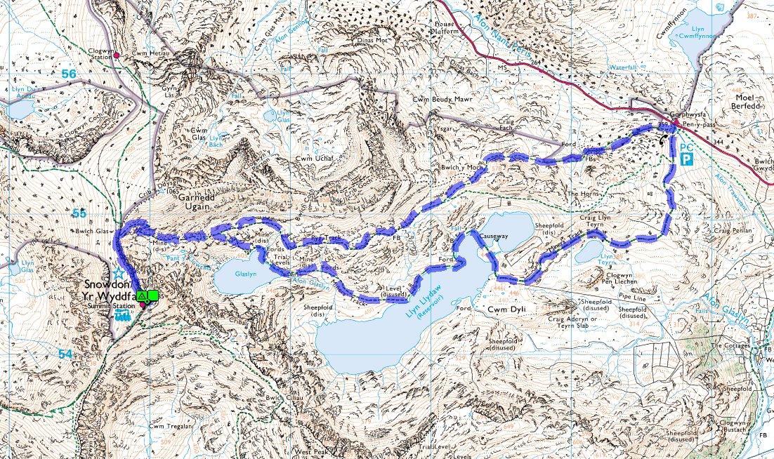 Lonewalker Snowdon Walk