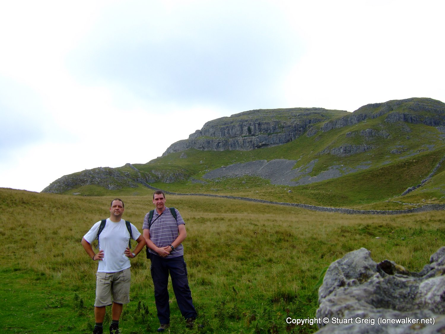 Stu and Mike in 3 Peaks Country