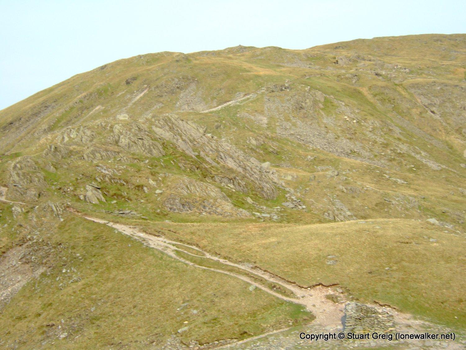 High Street and High Raise from Mardale Head