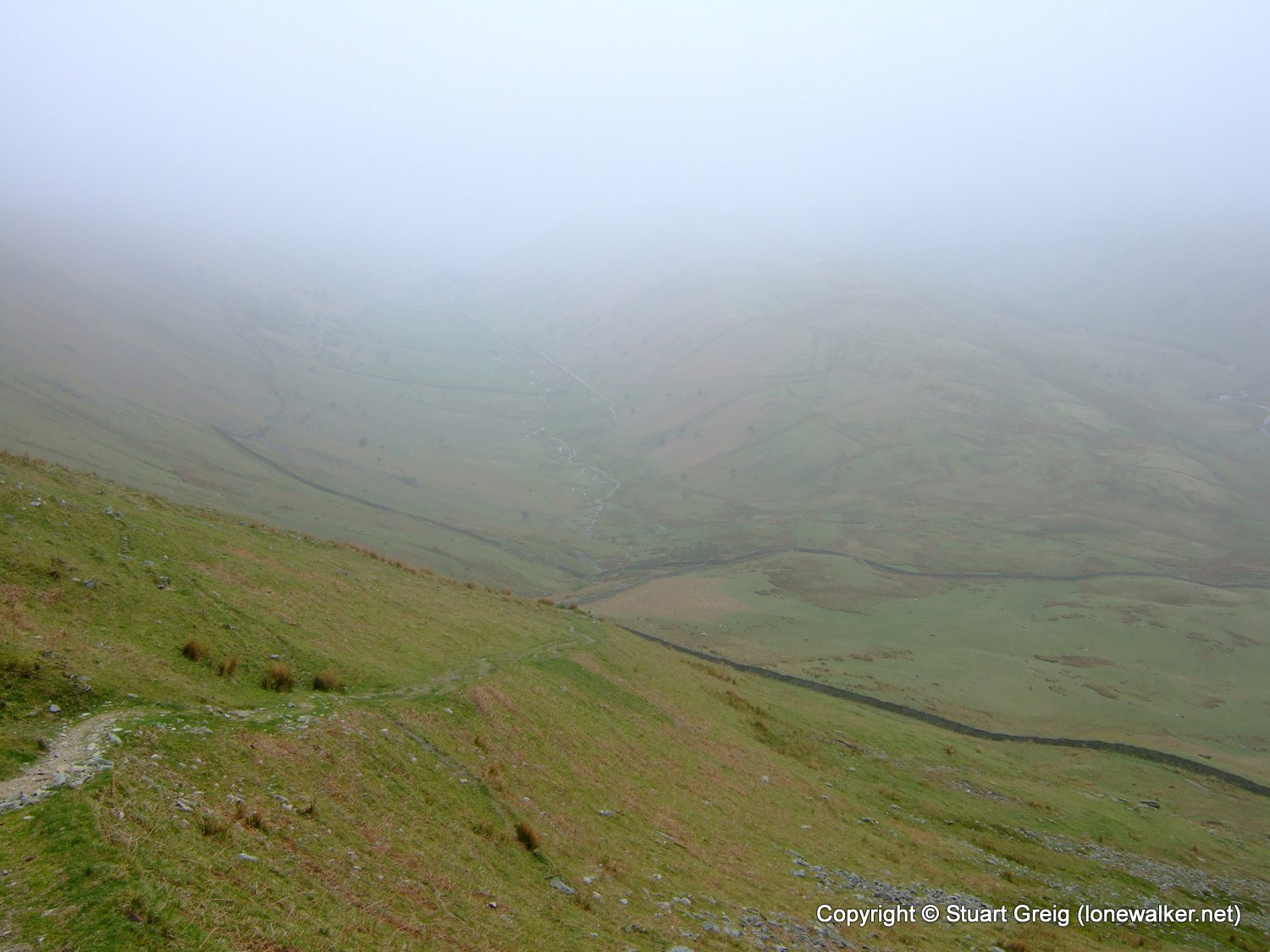 Ill Bell Ridge from Troutbeck