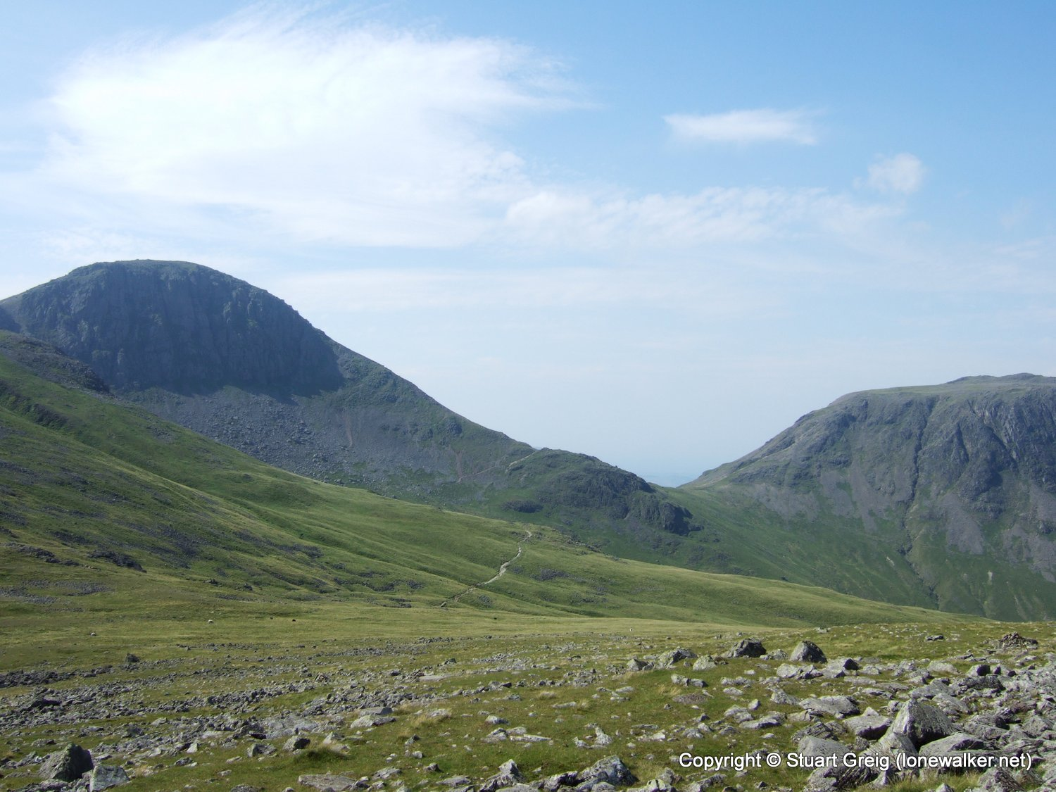 Great Gable from Honister