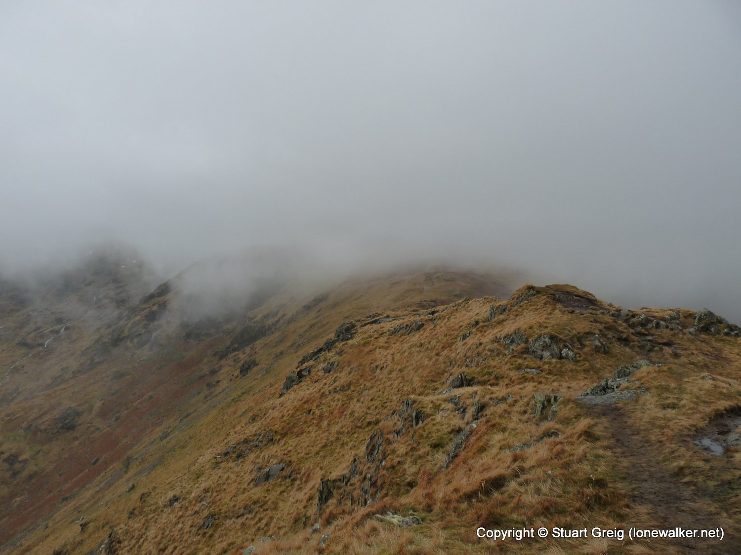 Fairfield from Patterdale