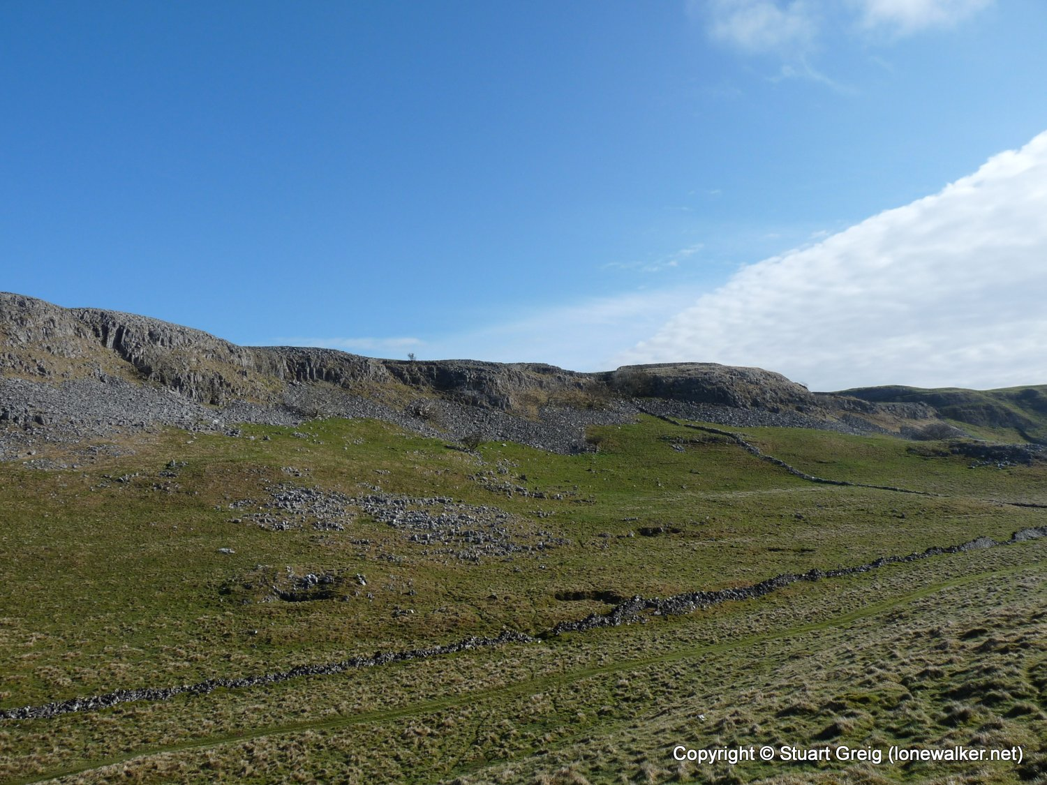 Attermire Scar from Stainforth