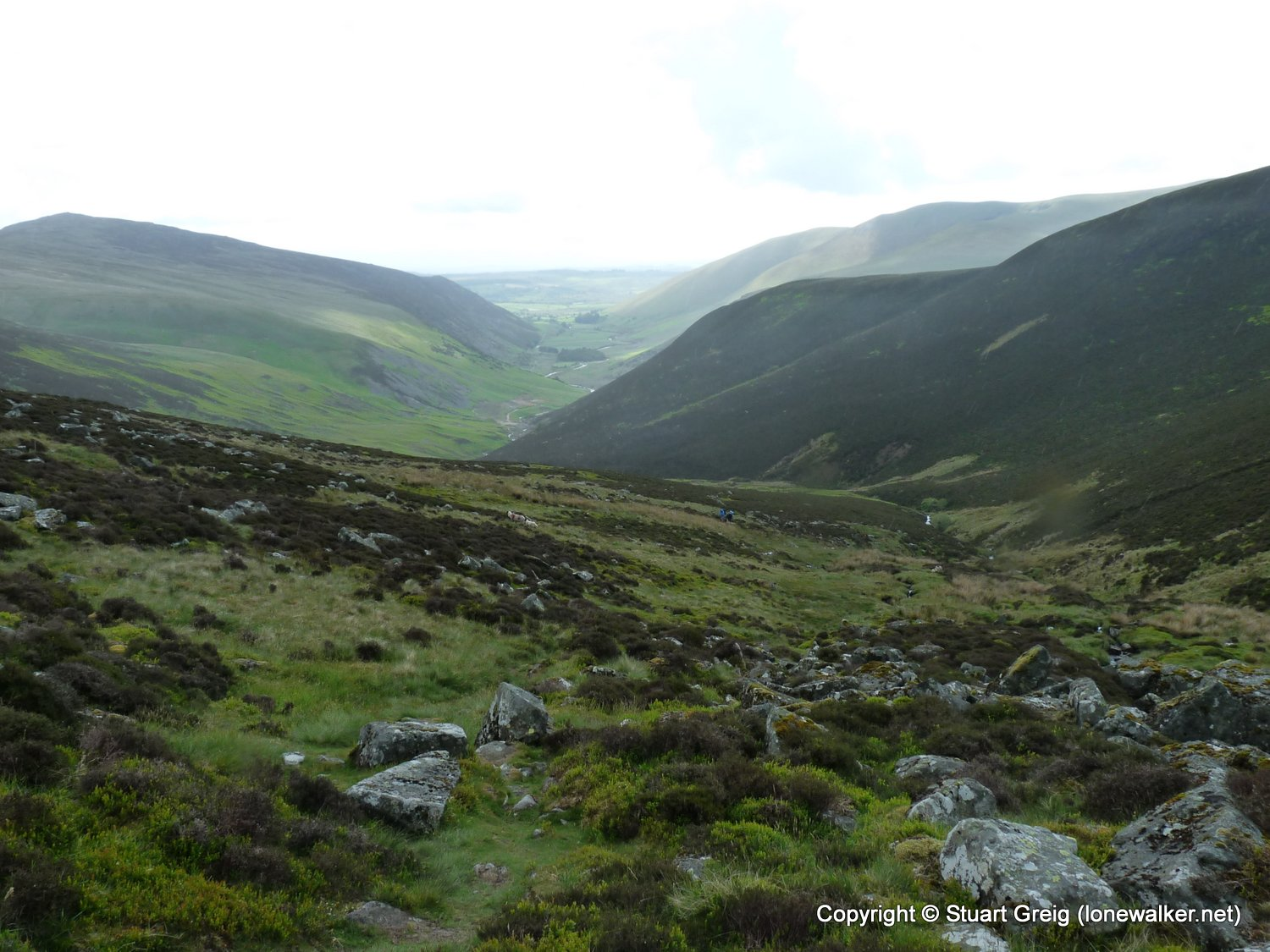 High Pike from Mosedale