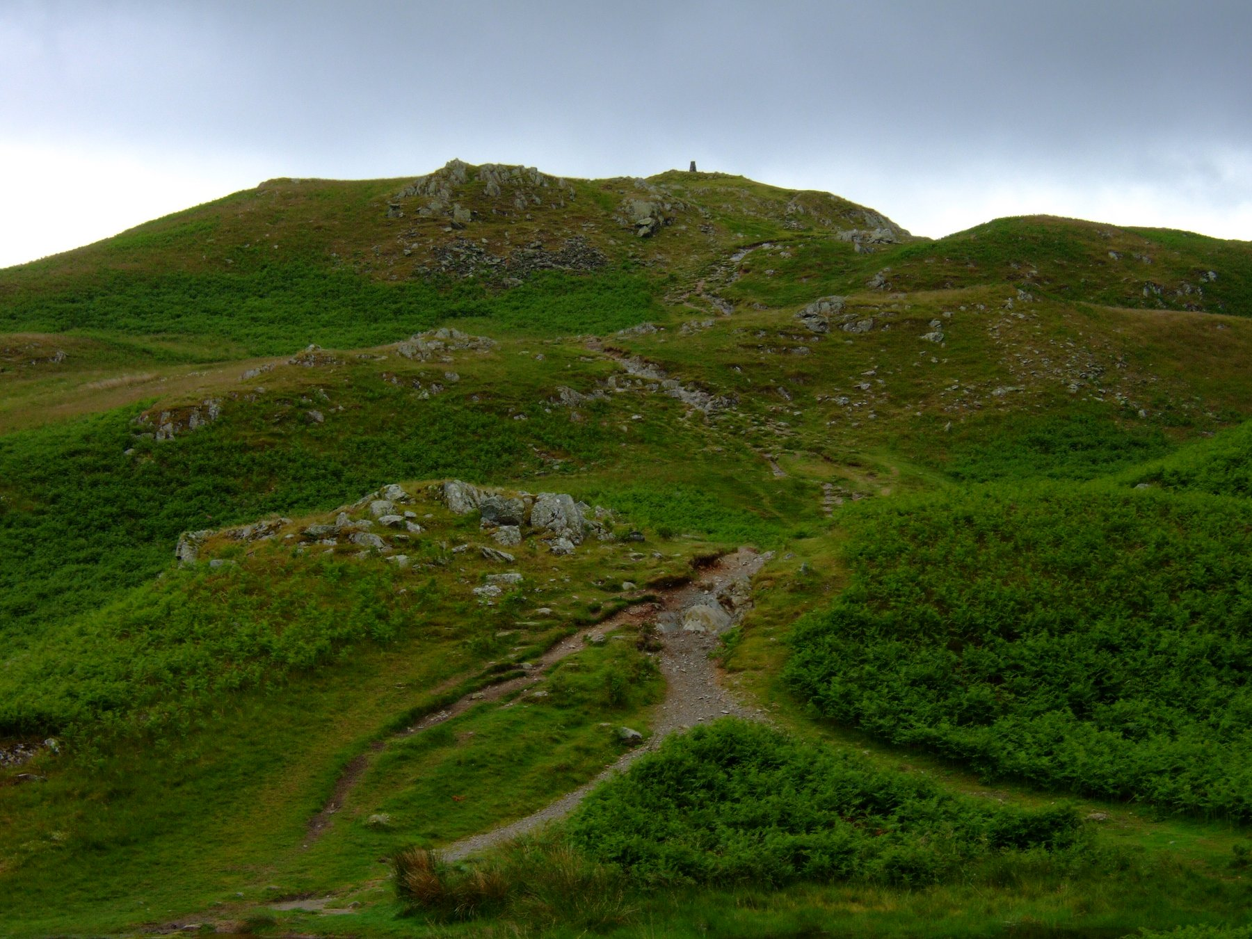 Loughrigg and Silver How