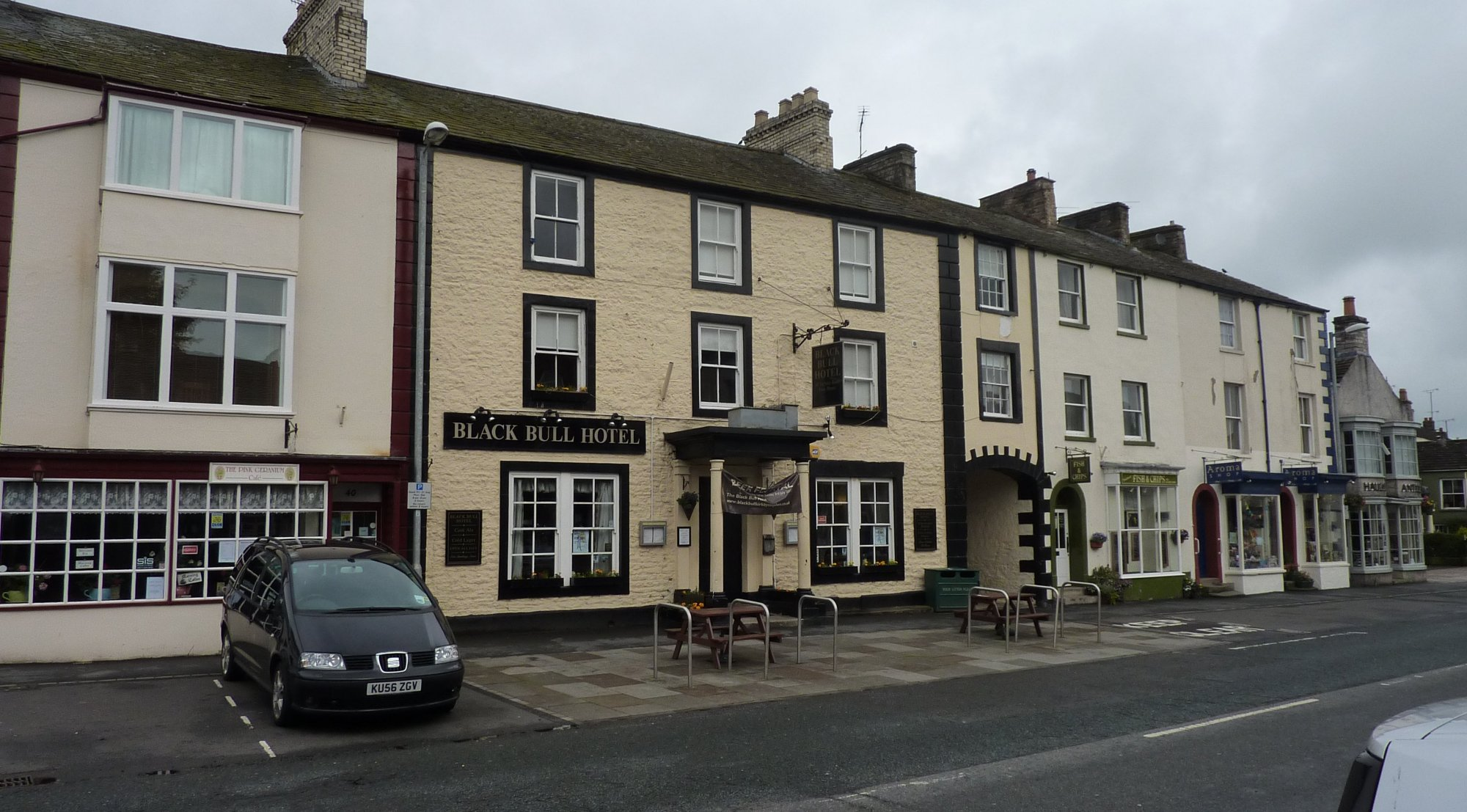 Black Bull Hotel in Kirkby Stephen