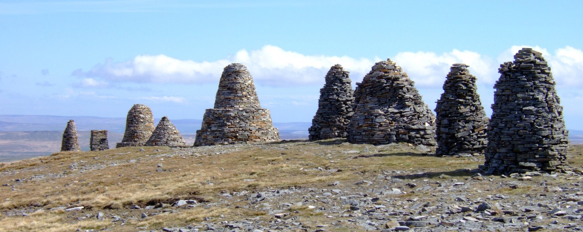 The Nine Standards on the hill of the same name (from C2C 2006)