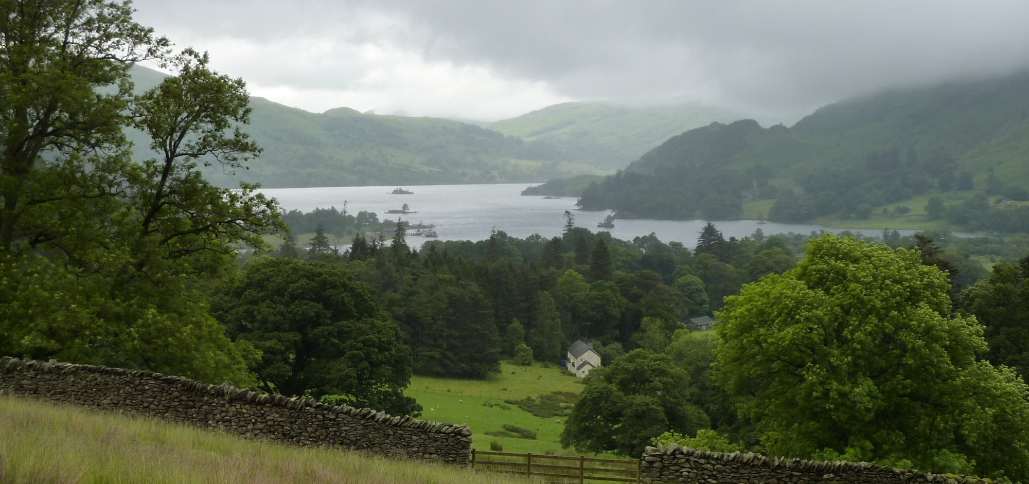 Looking back to Ullswater