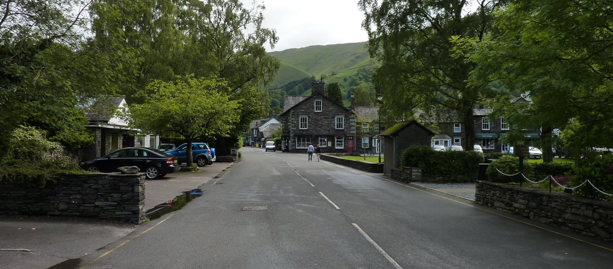 A very quiet Grasmere village