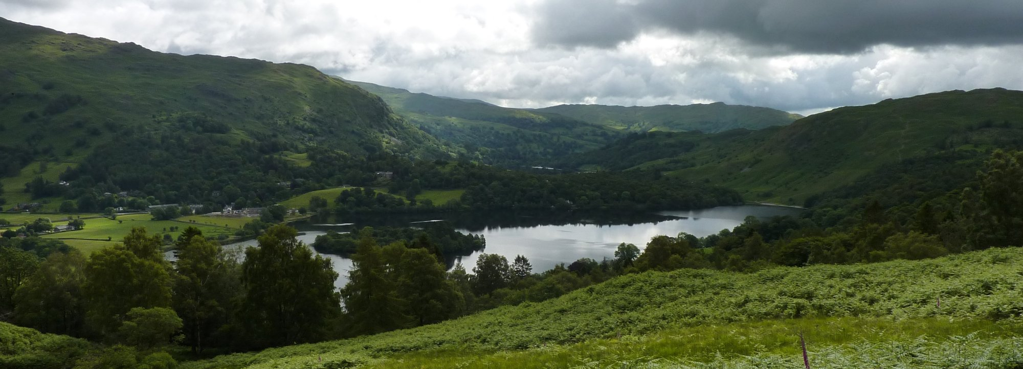 Looking back towards Grasmere