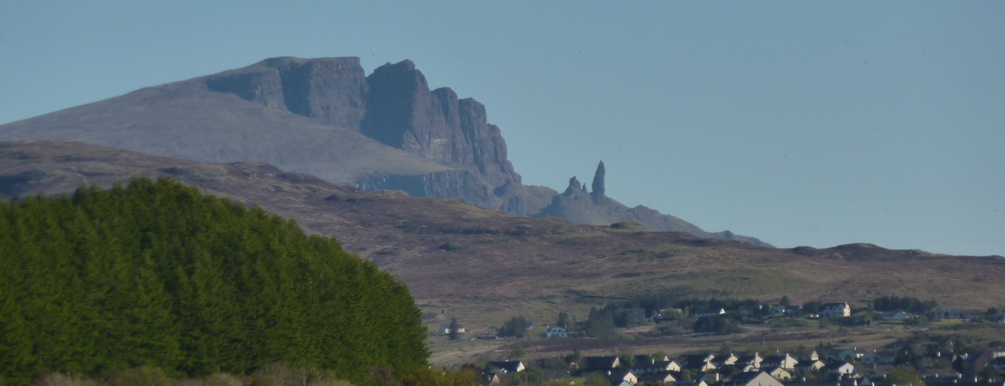 Views behind of the Storr