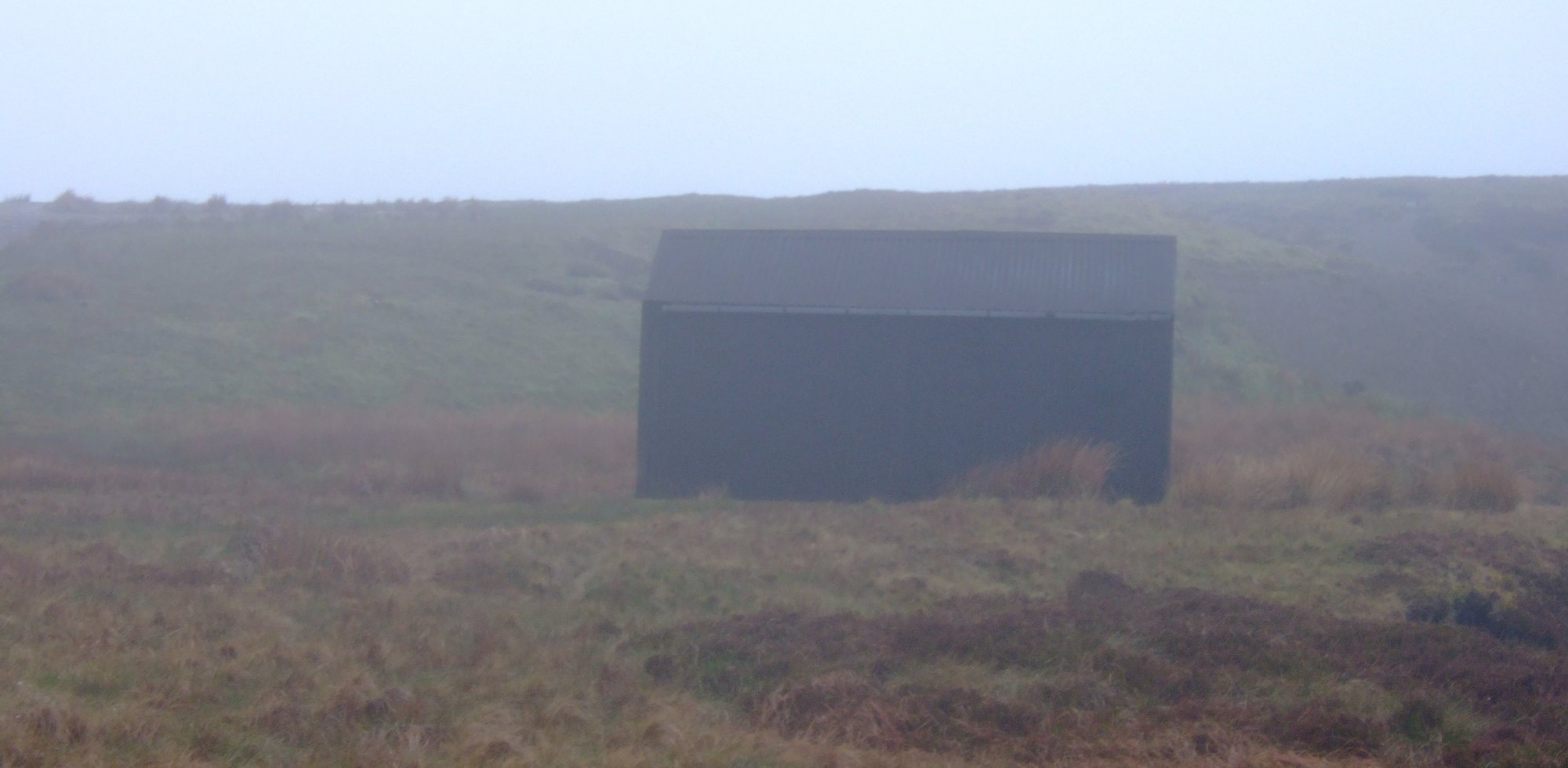 Shooting hut in Birk Dale (from 2009 C2C)