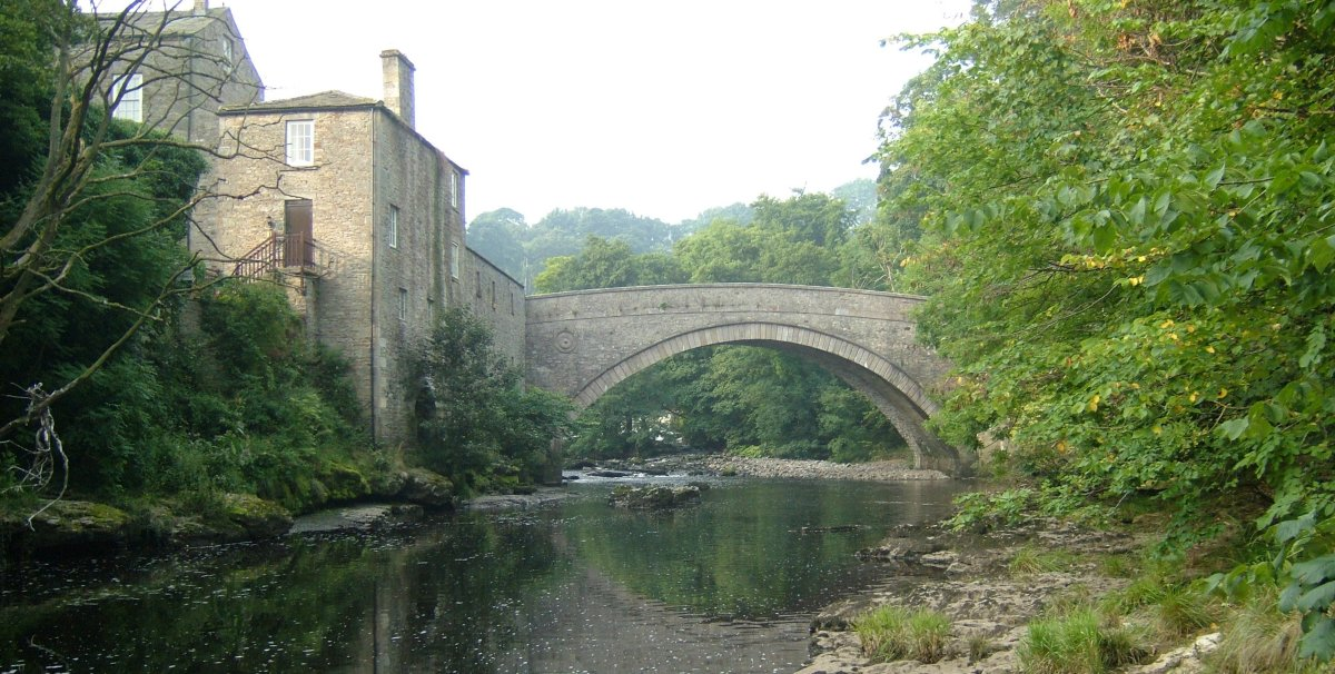 The bridge at Aysgarth