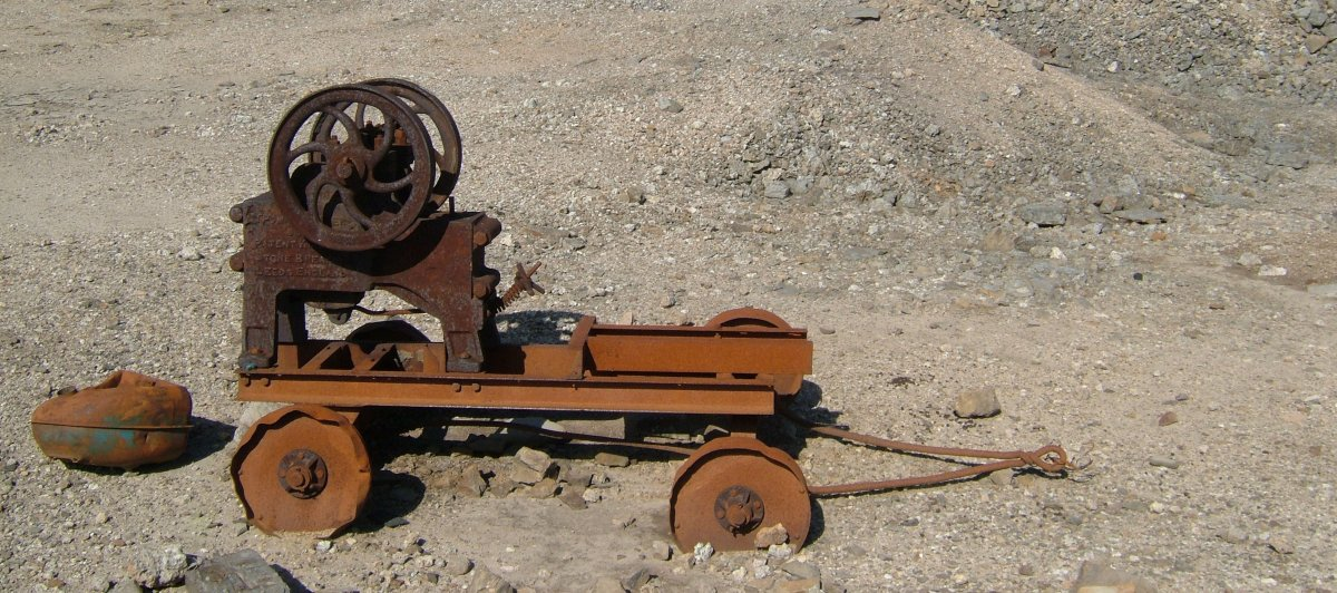 Old stone crusher