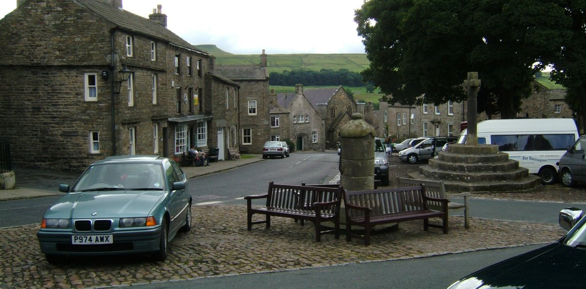 Askrigg village square