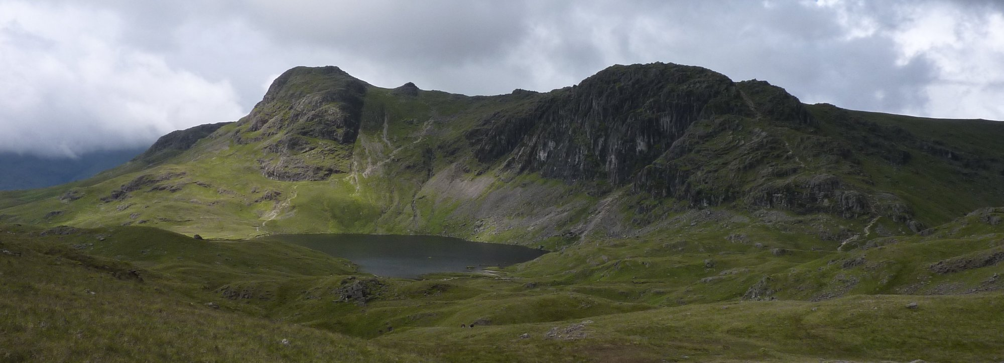 Harrison Stickle above Stickle Tarn