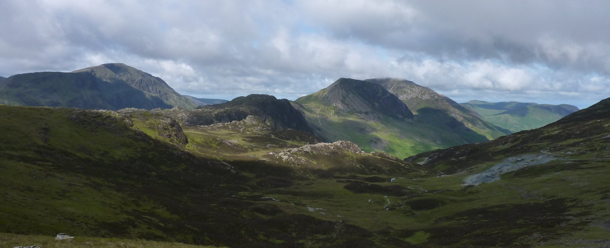 Haystacks and the High Stile range