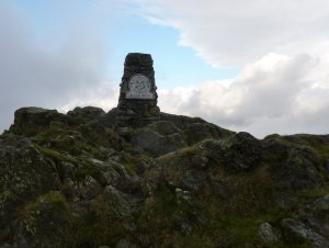 Black Fell & High Arnside trig point