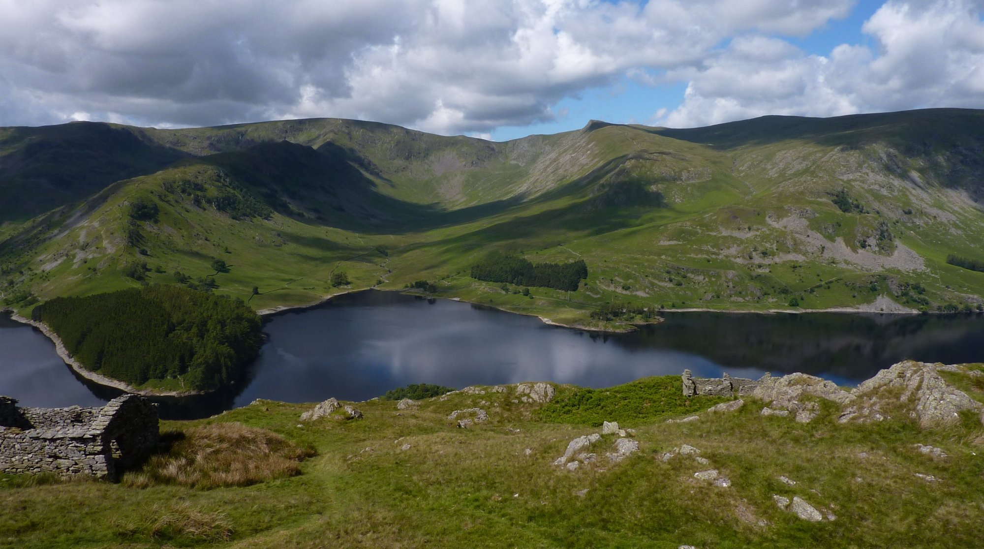 Haweswater with Kidsty Pike behind