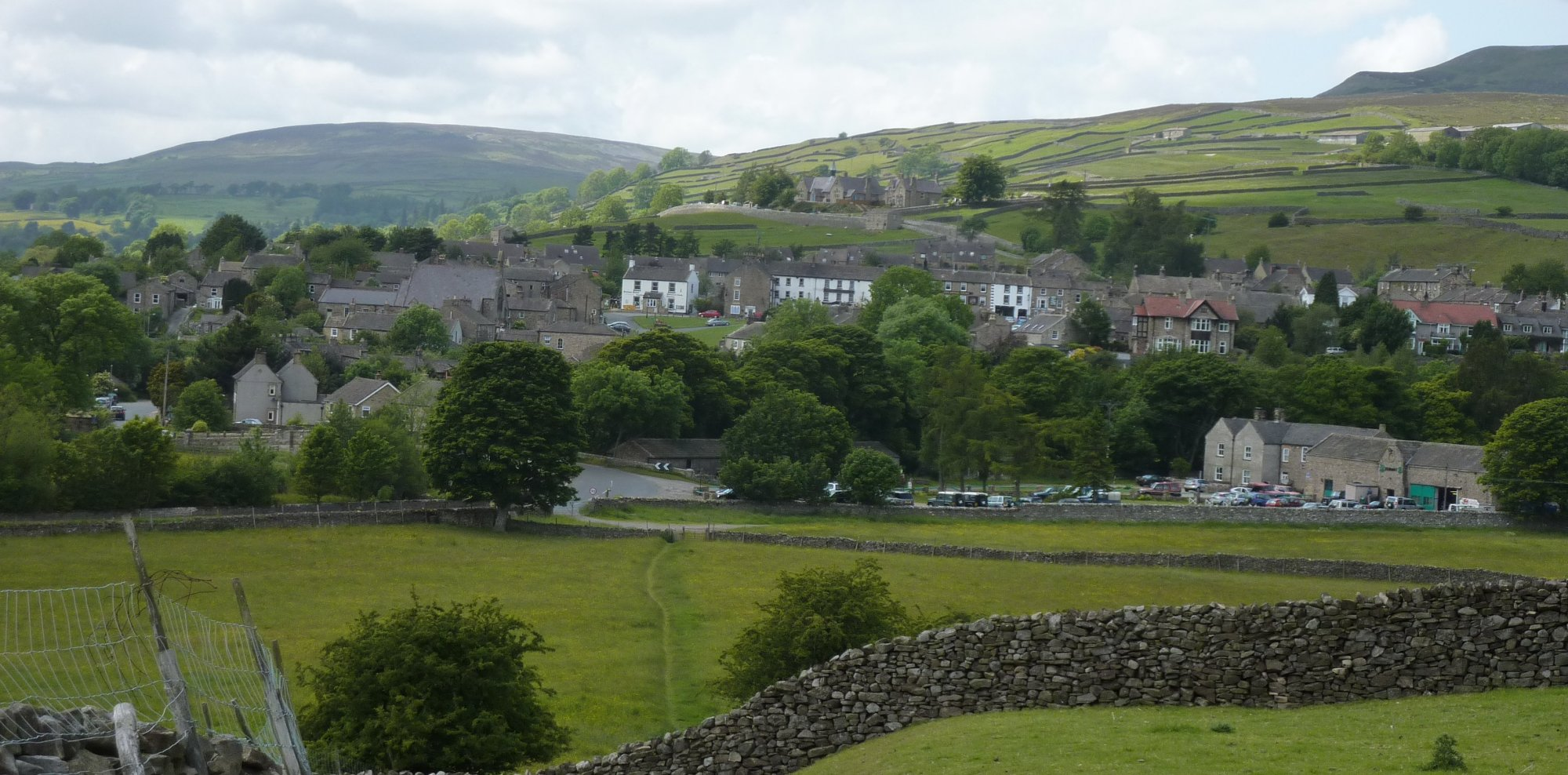 On final approach to Reeth