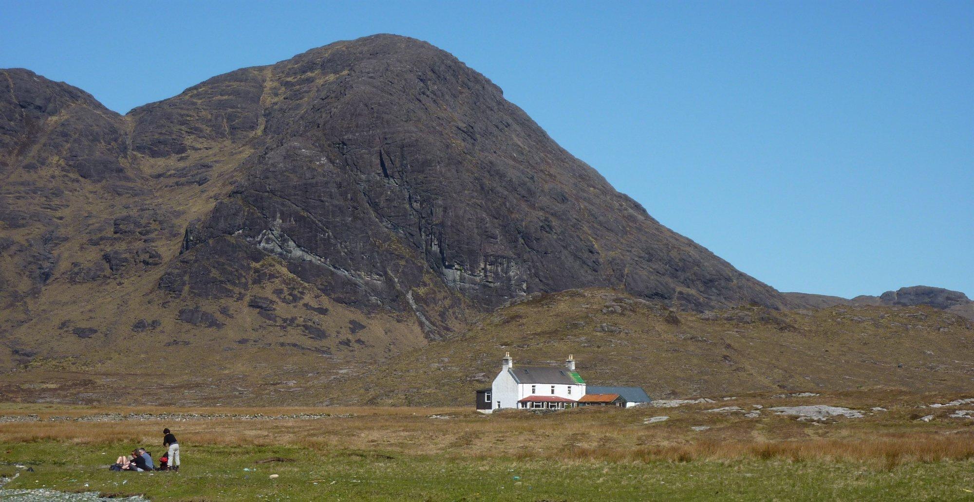 The house at Camasunary