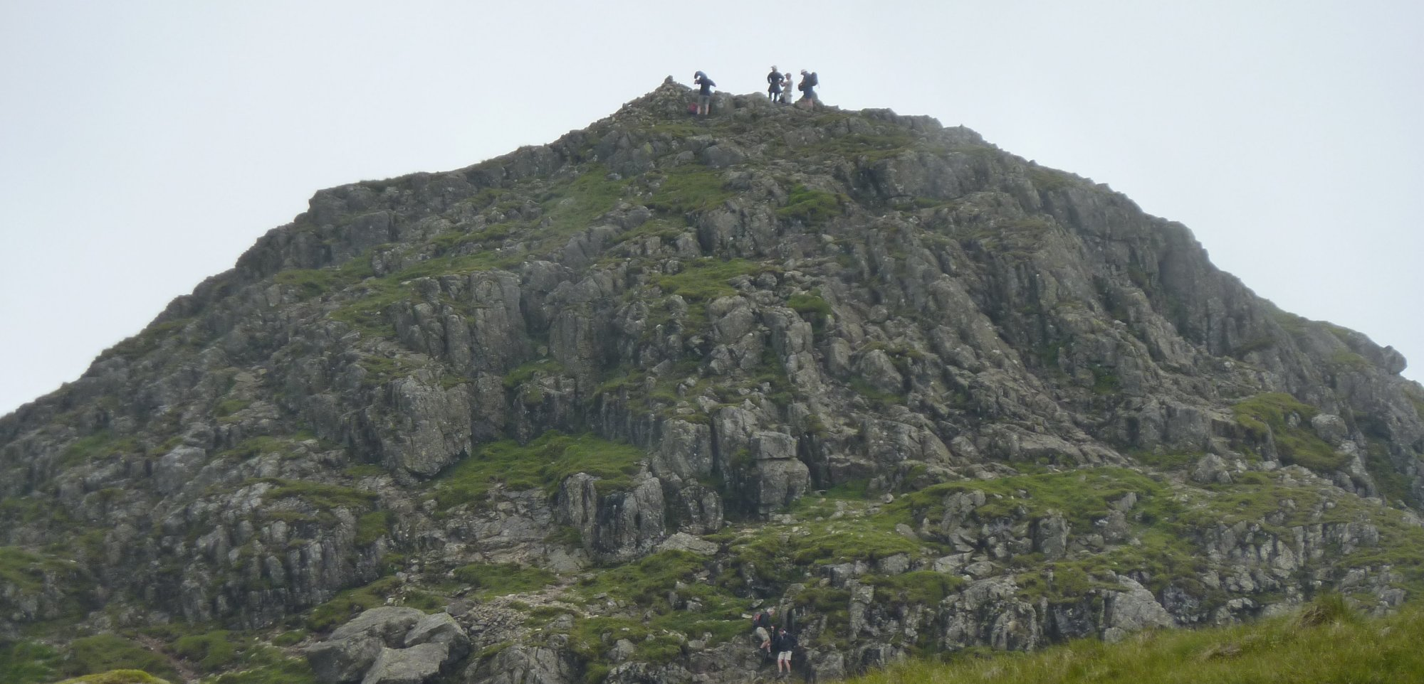 Baggers on Pike O'Stickle