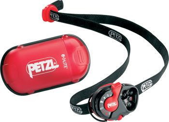 Petzl e-lite headtorch