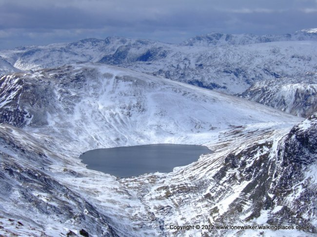 A wintery Grisedale Tarn