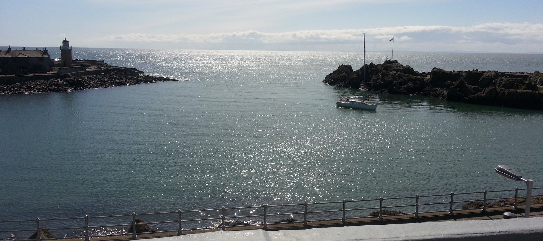 View from my room in the Harbour House Hotel