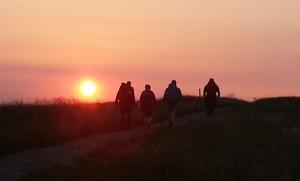 Heading up to Shining Tor (courtesy of @PilgrimChris)