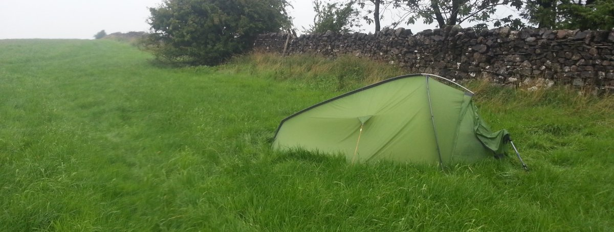 A wildcamp on the Pennine Way