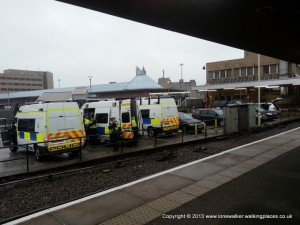 BTP Booting up at Bradford