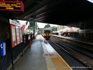 Brighouse station - my sixth different station of the day!