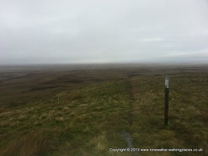 Sleightholme Moor - not for the faint-hearted - it's desolate out here!