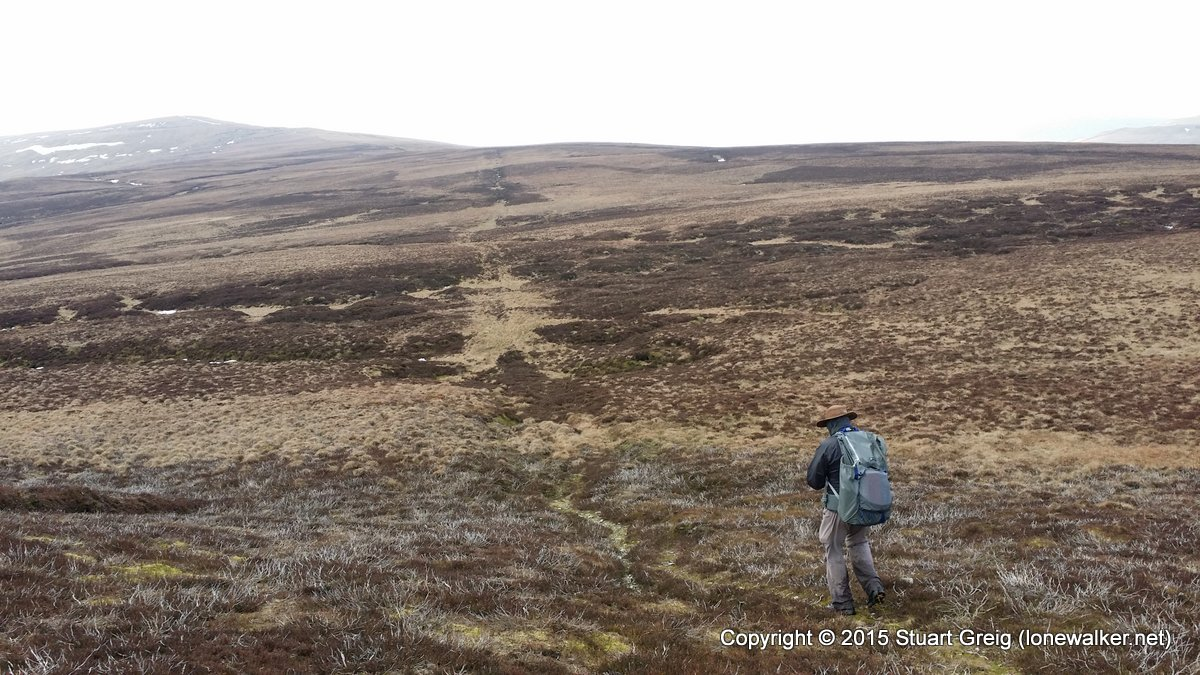 Heading for Buckden Pike