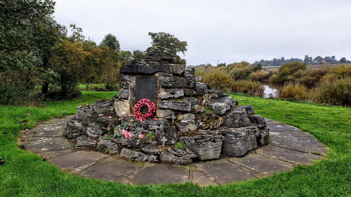 War memorial in Nether Poppleton