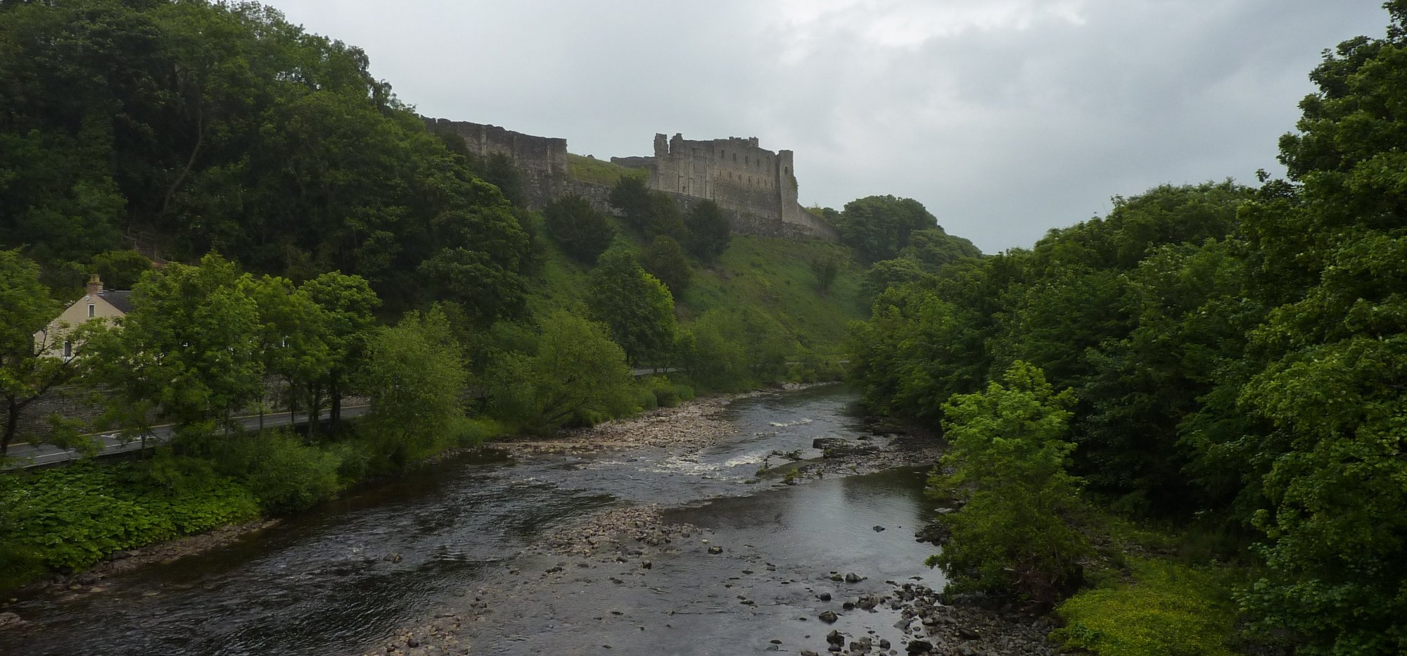 The River Swale and Richmond Castle