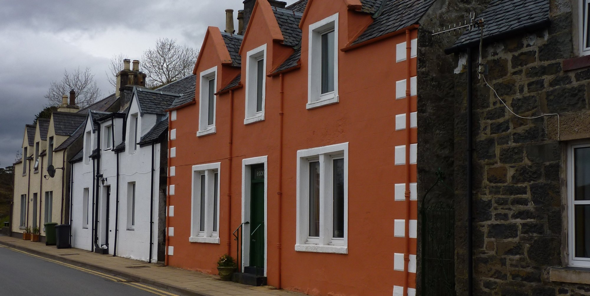 More houses in Portree