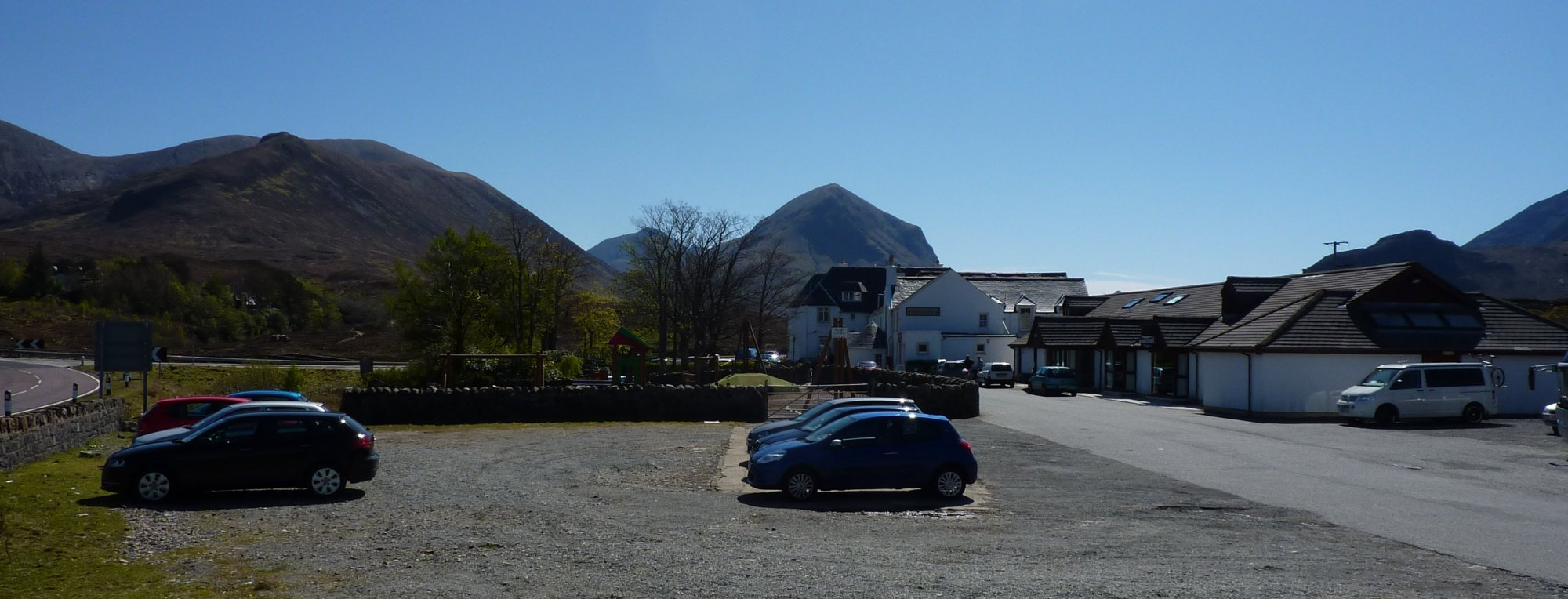 Arrival at the Sligachan Hotel and time for a cold Irn Bru while I wait for Rog to return to the car