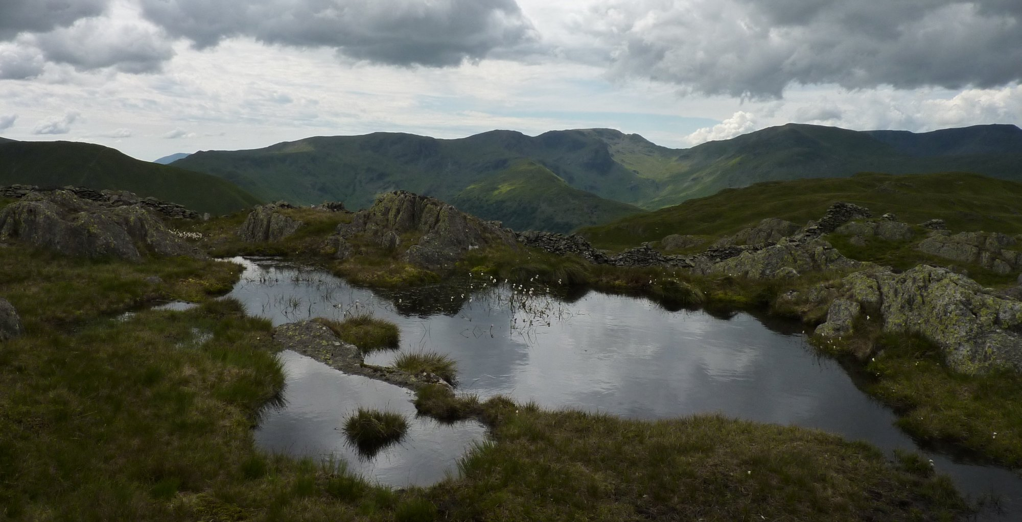 Tarn on Satura Crag
