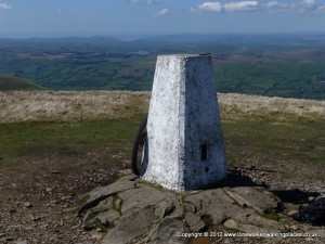Trig Point on The Calf