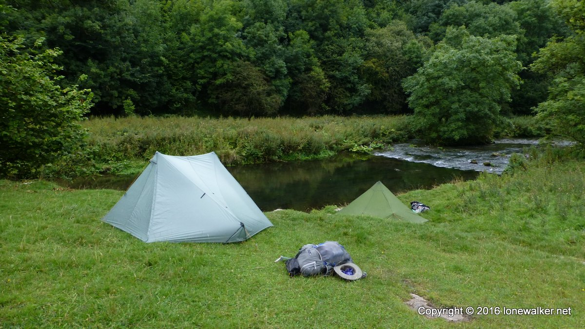 Lovely river-side pitch in the White Peak