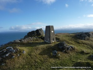 Culnaknock Trig point on Skye
