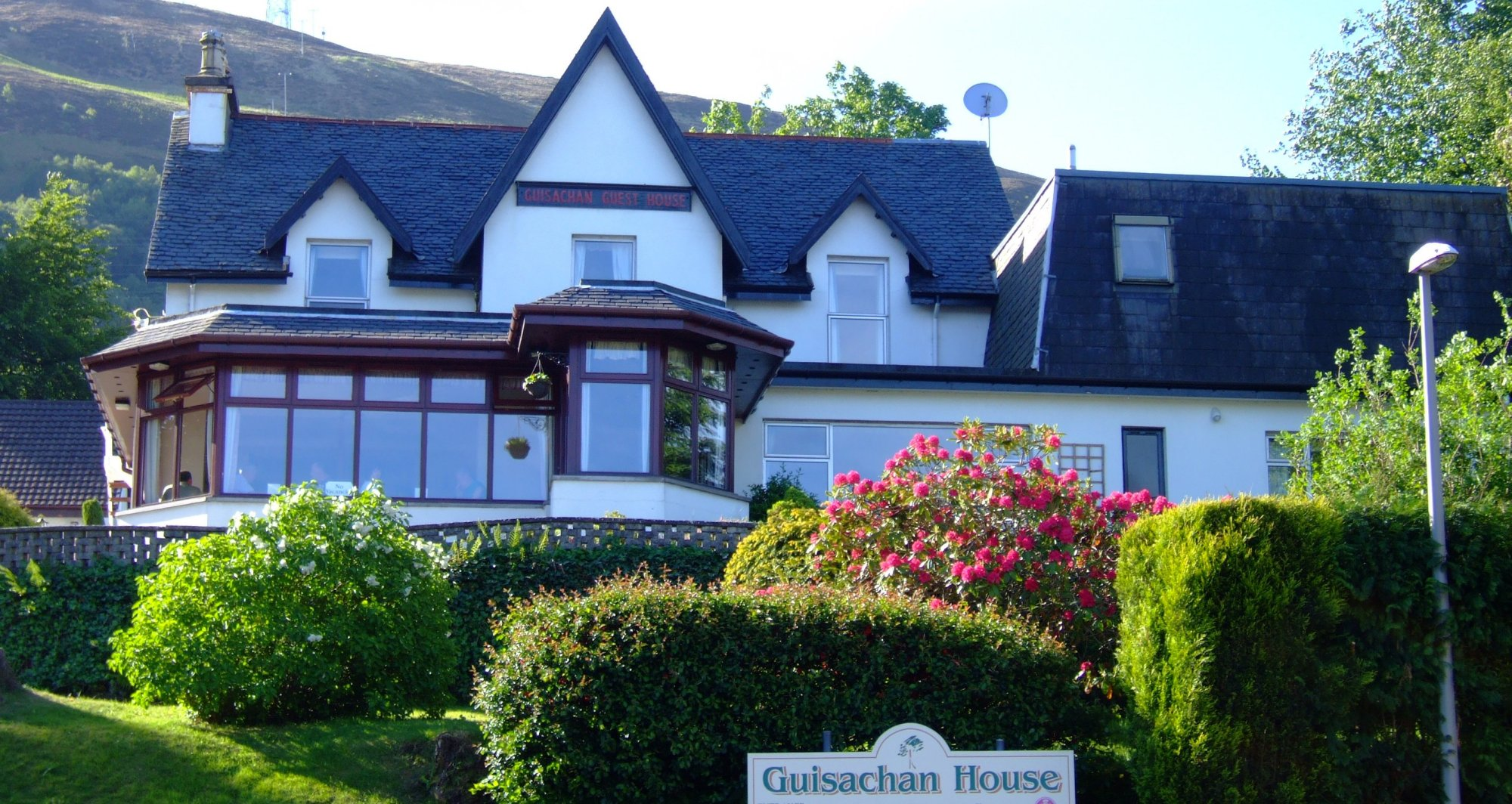The Guisachan Guest House, my home from home for two nights