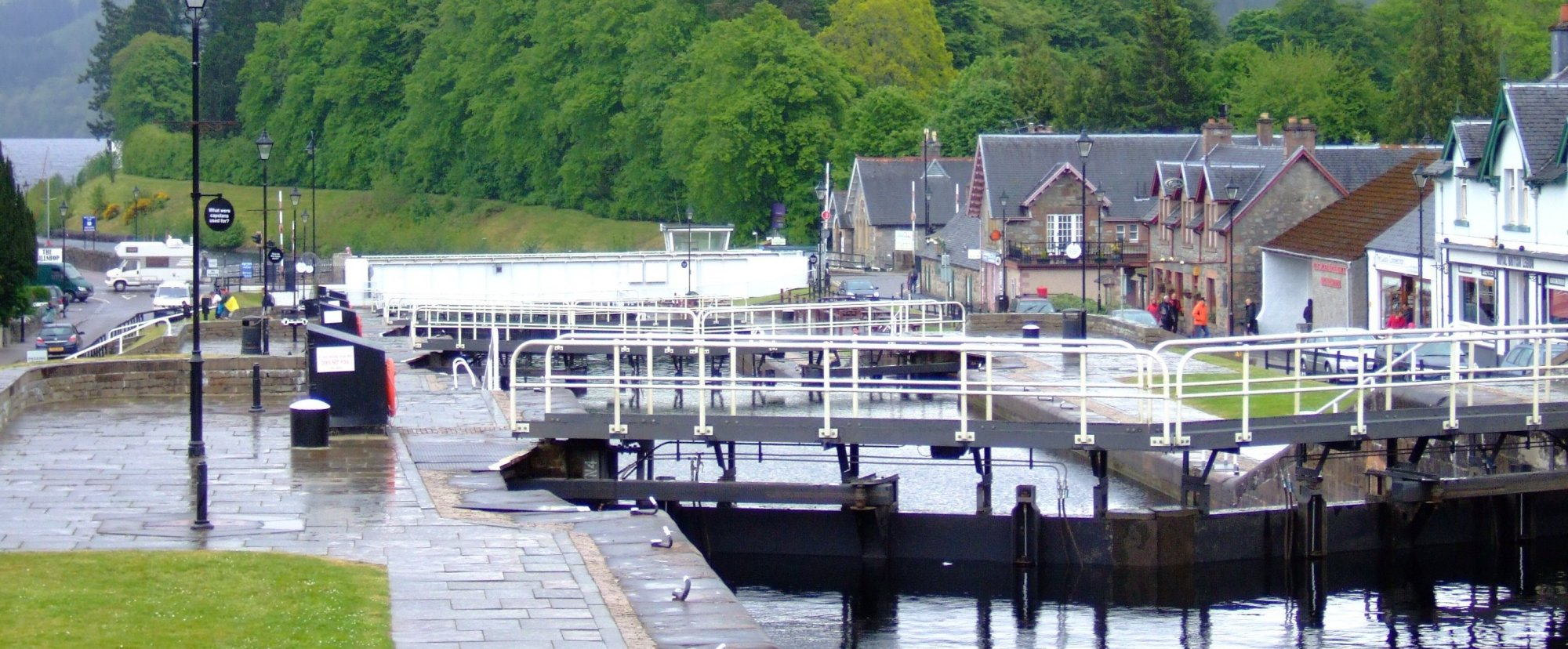 Arriving in Fort Augustus