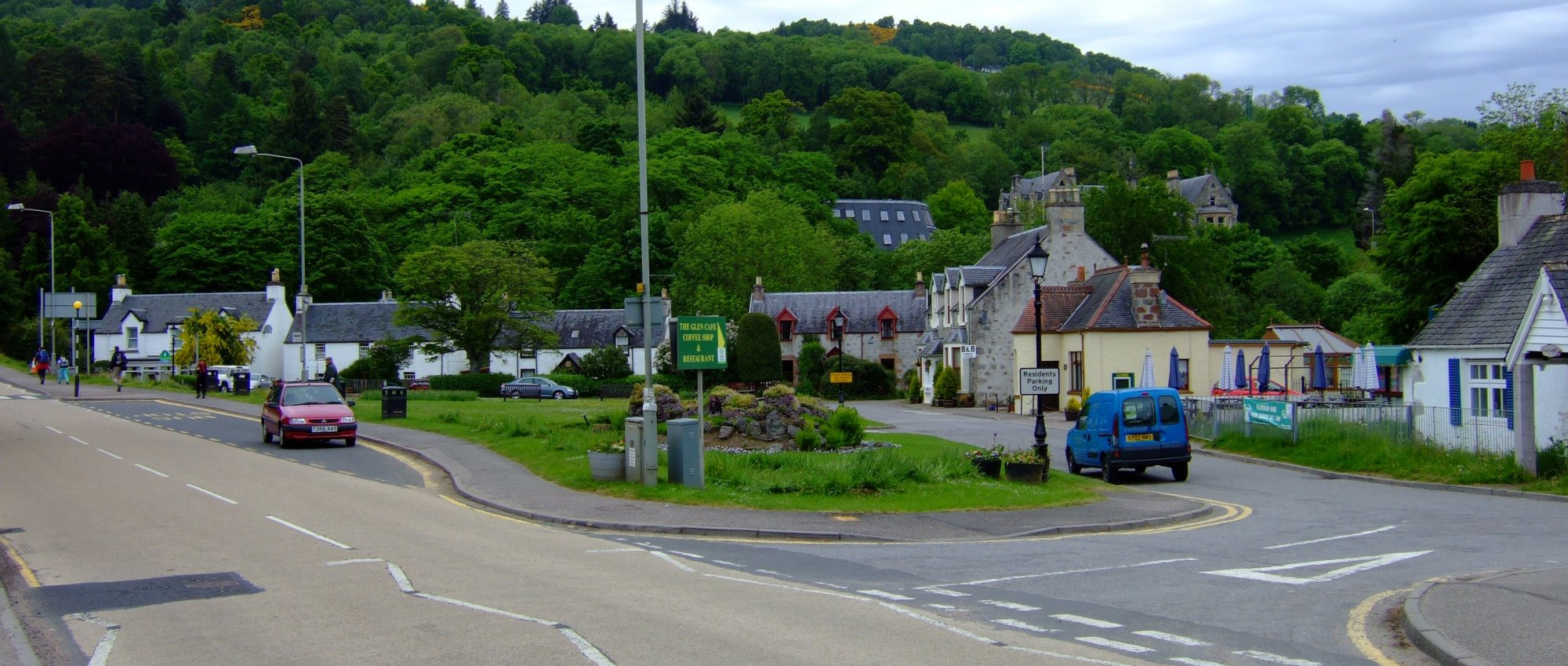The quiet little village of Drumnadrochit