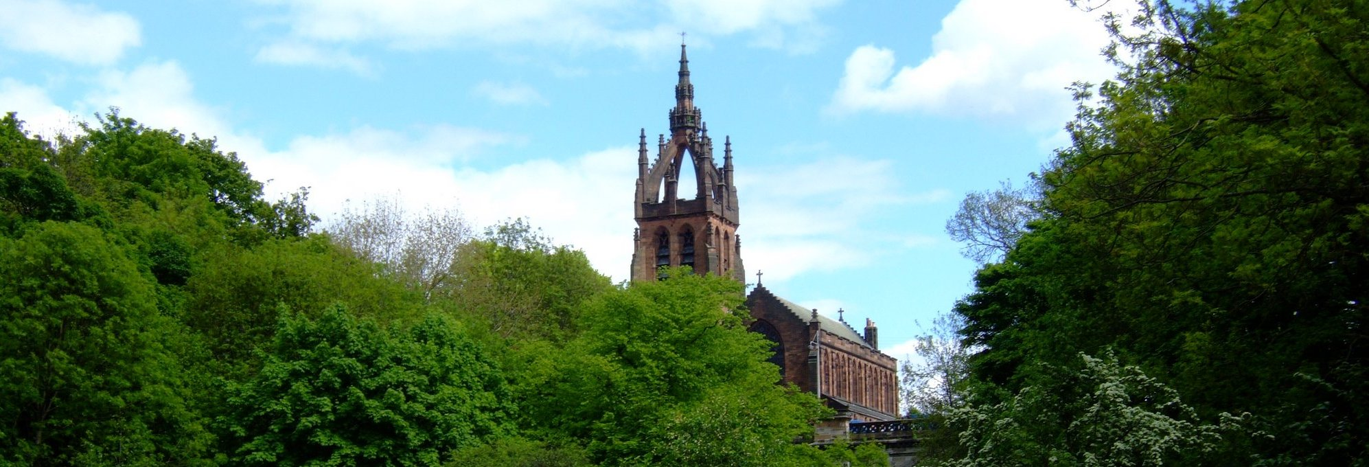 The fantastic Kelvin Stevenson Memorial Church