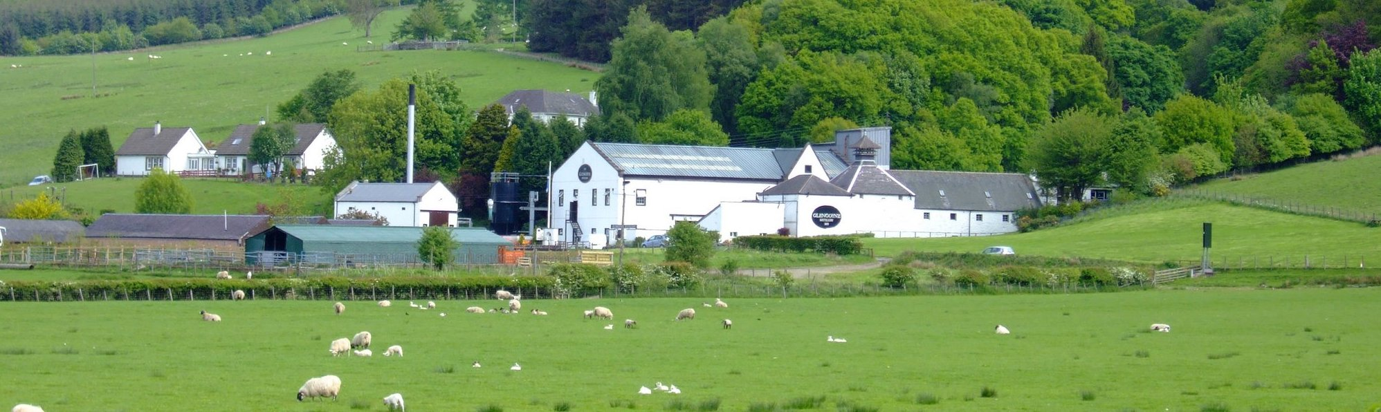 The Glengoyne Distillery - you can enjoy their product at most pubs for the next 20 miles