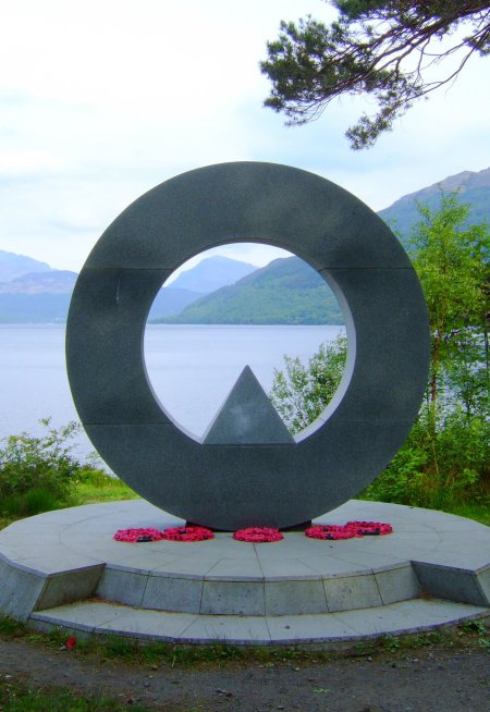 Memorial in Ben Lomond National Park