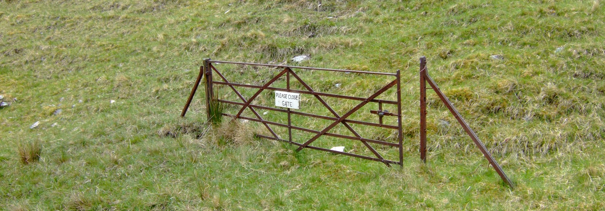 "Nomination for the ""Most Pointless Gate"" award and ""Most Pointless Sign"" award"